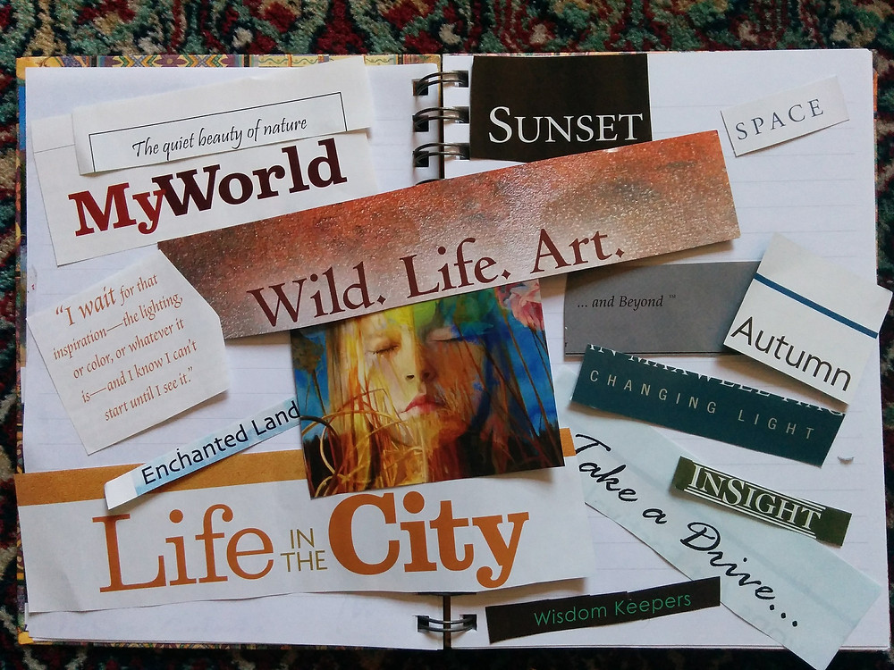 2019 vision boards with values