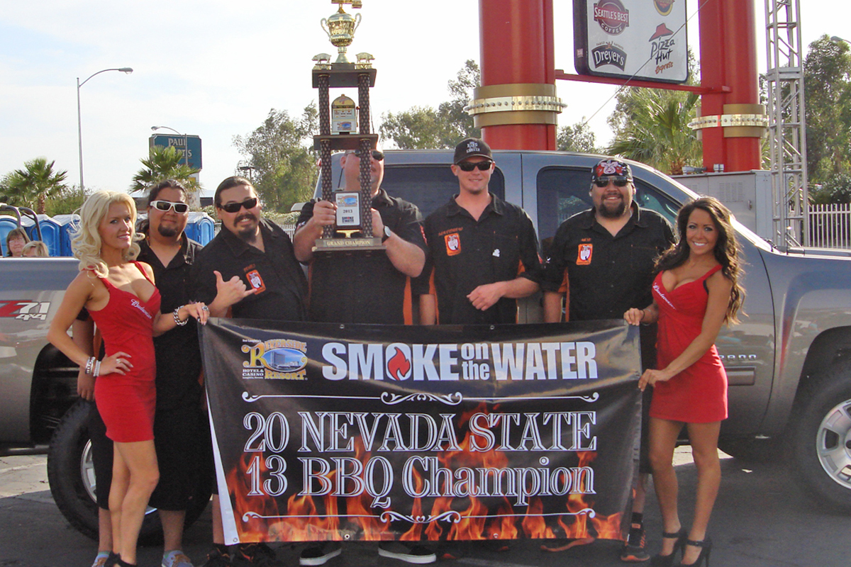 Winners in Front of Truck
