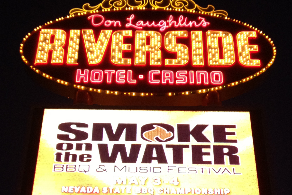 Smoke in Lights at Riverside