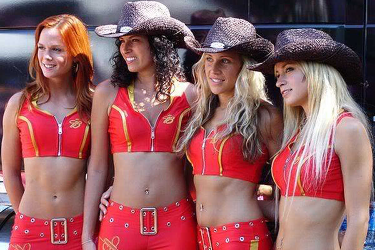 Bud Girls in Las Vegas