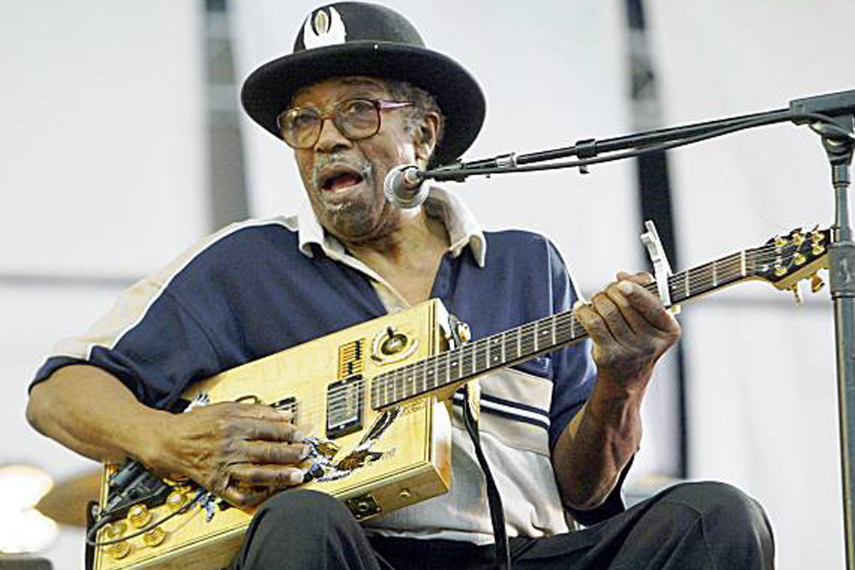 Bo Diddley in Pine Bluff
