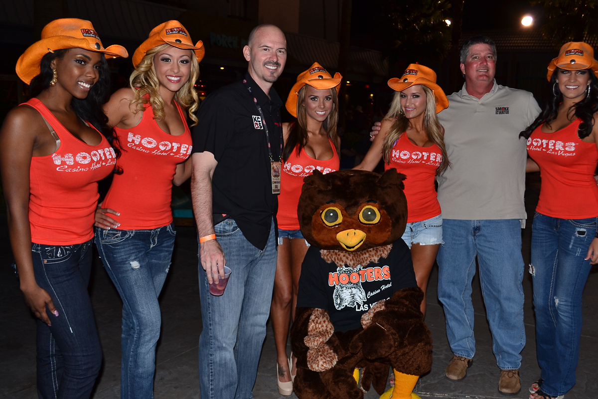 Hooters VIP Party in Vegas