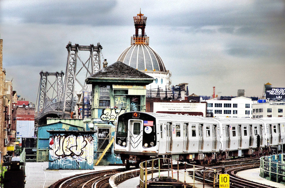 Elevated Train/ Williamsburg Bridge