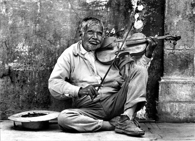 Blind Mexican Musician