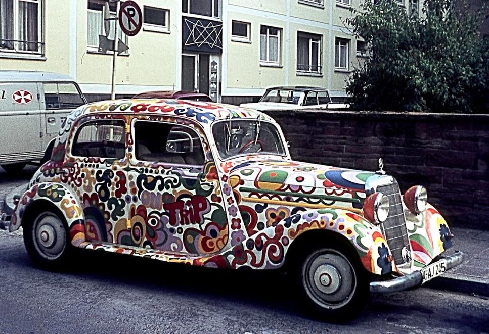 Psychedelic Rolls Royce
