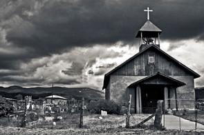 Rural Church/ BW