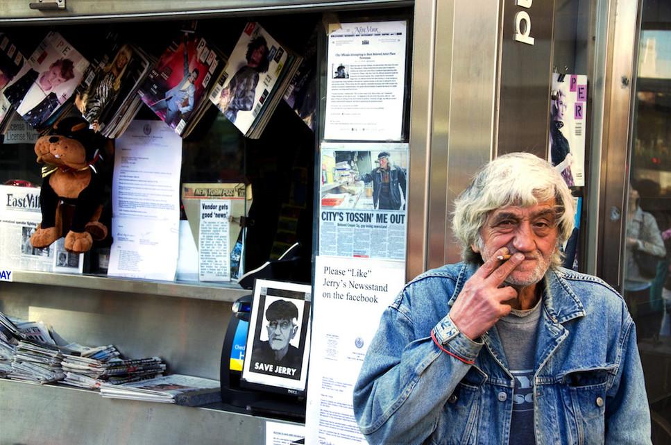 Newsstand Man