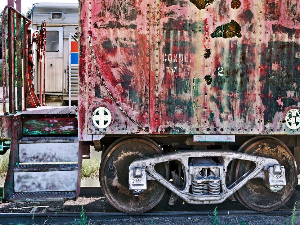 Old Railroad Cars