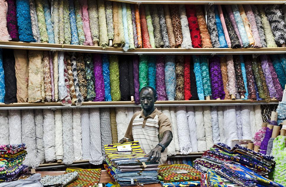 Fabric Vendor/ Fashion District