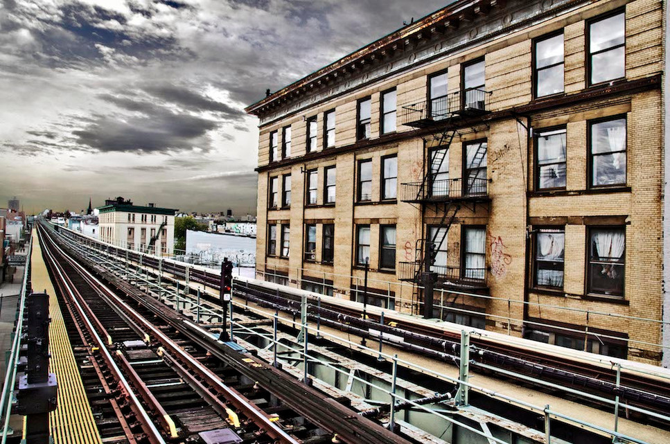 Elevated Train Tracks
