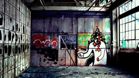 Graffiti Clown