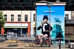 Marlene Dietrich Mural