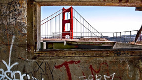 Golden Gate Bridge/ Graffiti