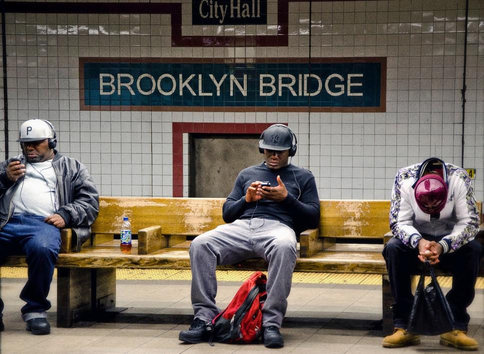 Brooklyn Bridge Train Station