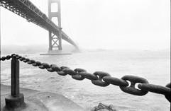 Golden Gate Bridge/ BW
