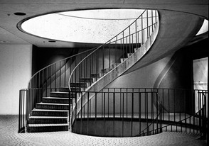 Winding Staircase/ BW