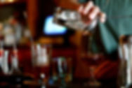 Bartender Pouring Coctail