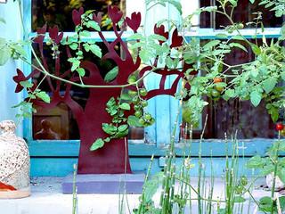 Décoration du jardin en métal, la flore BAOBAB