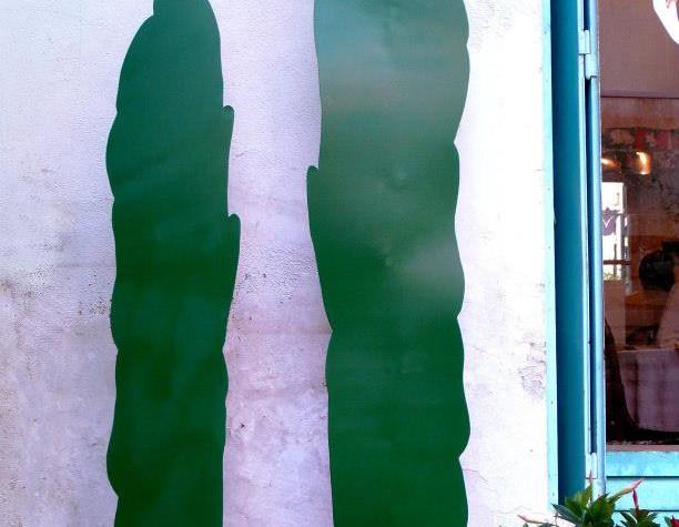 Décoration du jardin en métal, la flore IFS