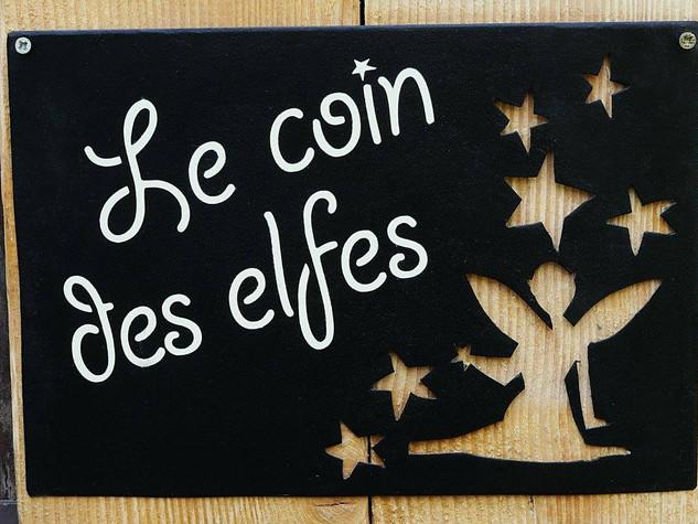 Déco en métal personnalisée hobby ELFES