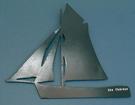 Décoration intérieure en métal BATEAU