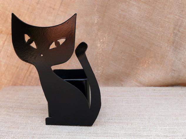 Des chats en métal pour une déco variée PORTE-CRAYONS