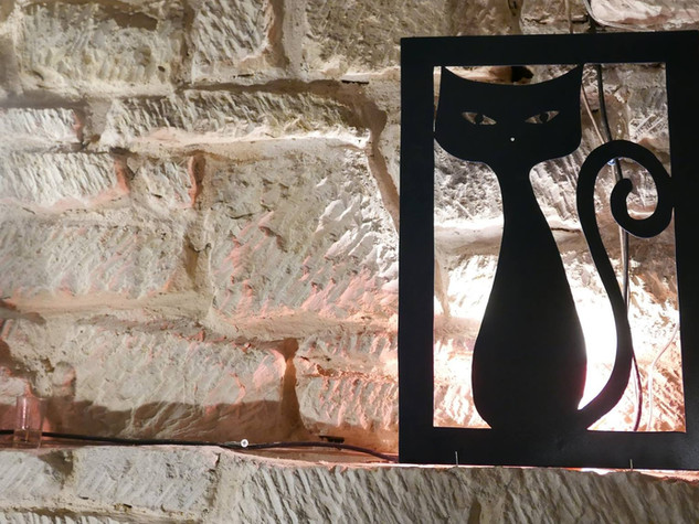 Des chats en métal pour une déco variée BOB