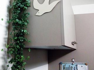 Décoration murale personnalisée en métal HIRONDELLE
