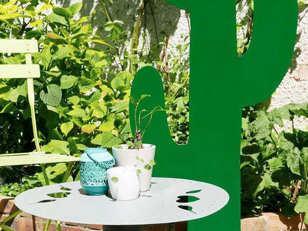Décoration du jardin en métal, la flore CACTUS