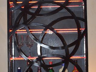 Décoration murale personnalisée en métal PORTE DE BAR