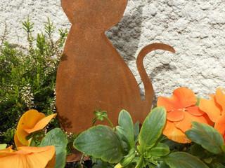 Des chats en métal pour une déco variée ROUILLE