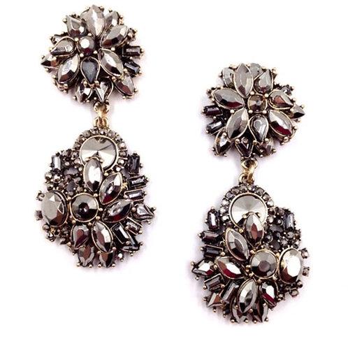 Black Payton Earrings