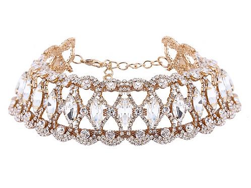 Zane Gold Choker Necklace