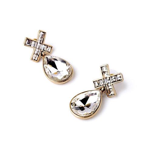 Double X Elegant Earrings
