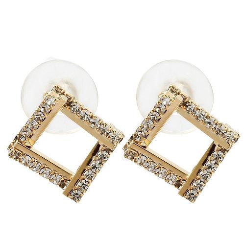 Squared Stud Earrings