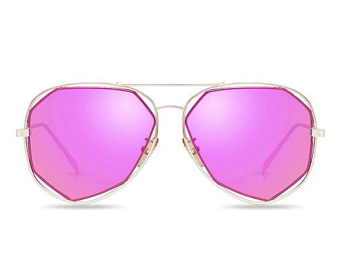 Lyric Hot Pink Sunglasses