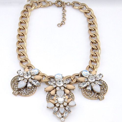 Morria Vintage Statement Necklace
