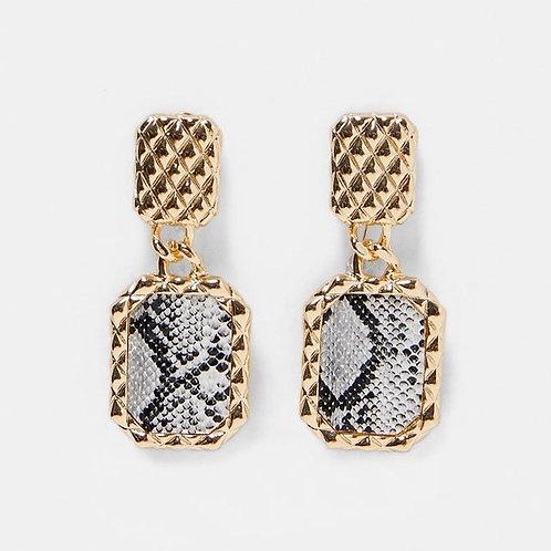 Cobra Drop Earrings