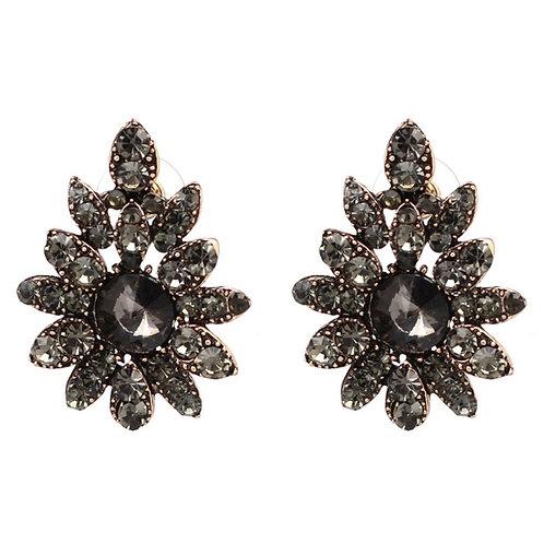 Bella Noire Stud Earrings