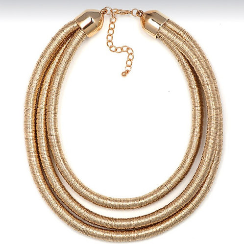 Chloe Coil Necklace
