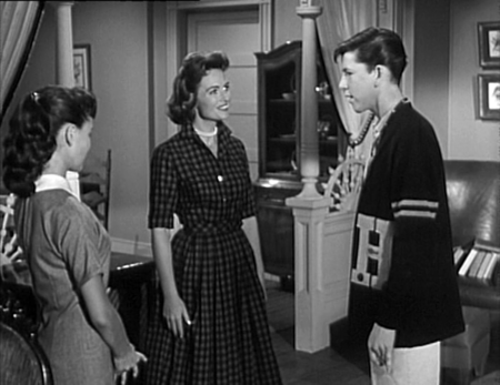 Shelly Fabares, Donna Reed and Jimmy Hawkins