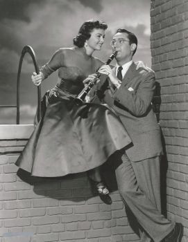 Donna Reed and Steve Allen