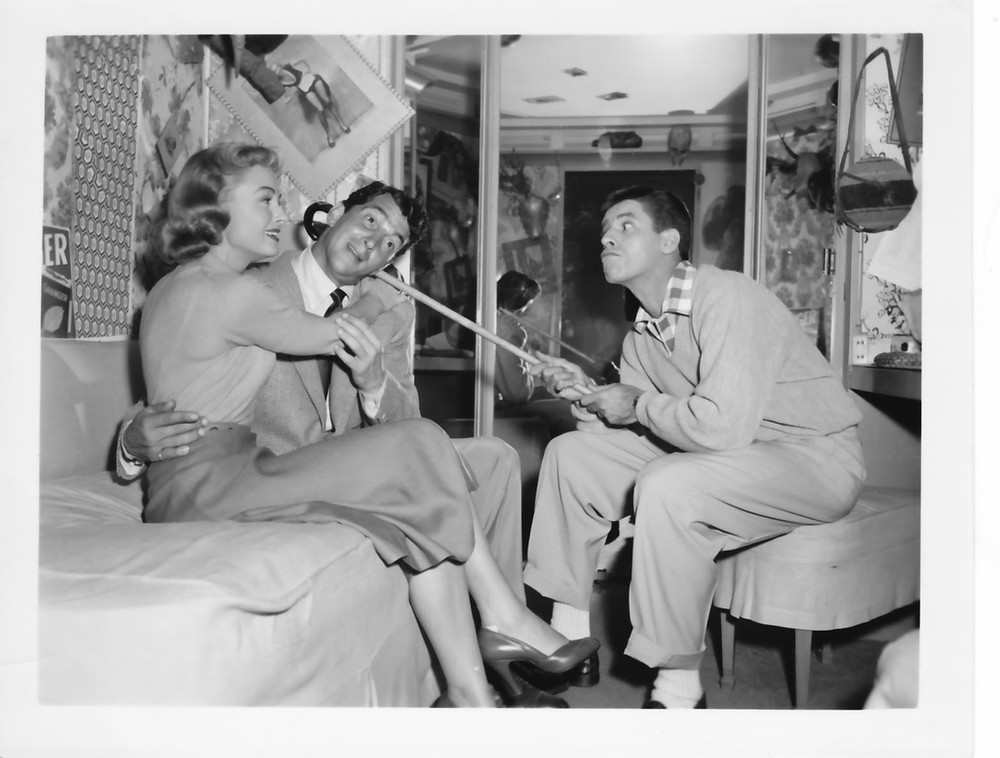 Donna Reed, Dean Martin and Jerry Lewis