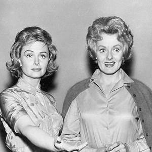 Donna Reed and Ann McCrea (Midge)