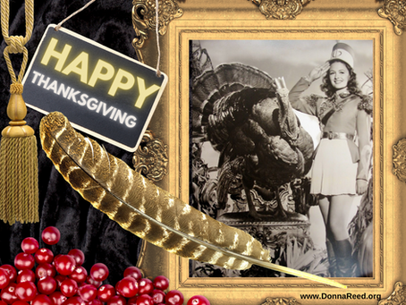 Greetings from The Donna Reed Foundation