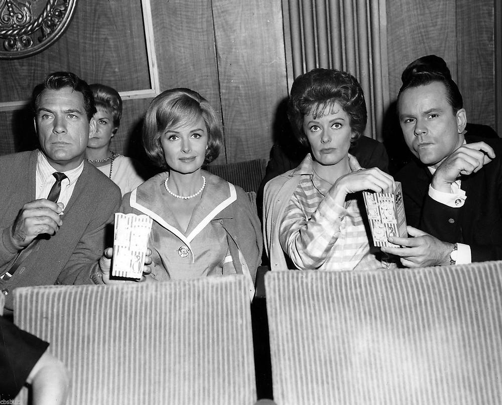 Carl Betz, Donna Reed, Ann McCrae, Bob Crane