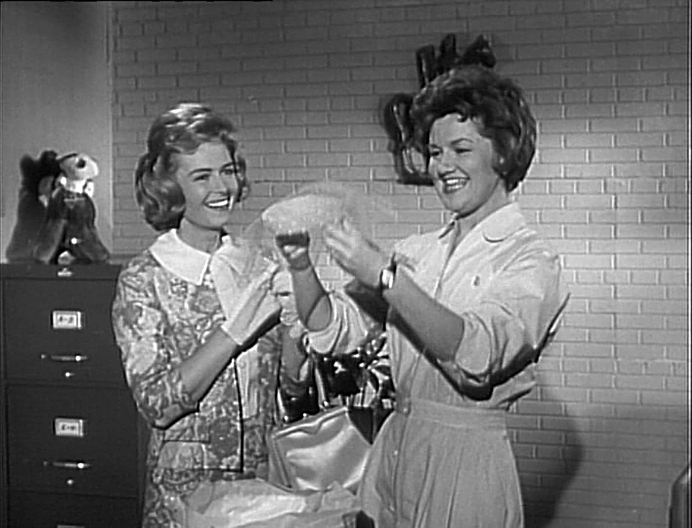 Donna Reed and Marjorie Redmond