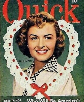 Happy Valentine's Day from the Donna Reed Foundation