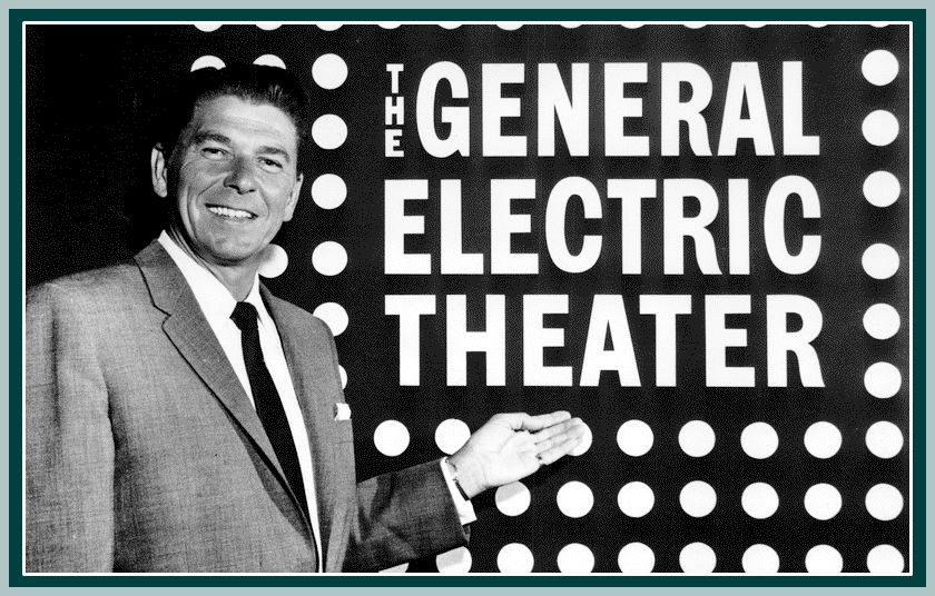 Ronald Reagan, host of General Electric Theater
