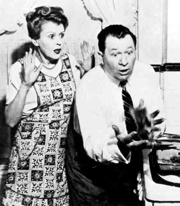 June Callyer and Stuart Erwin